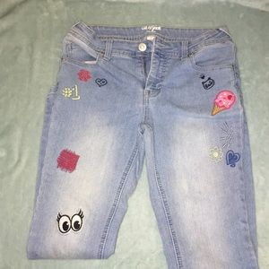 Adorable girls jeans by Cat & Jack